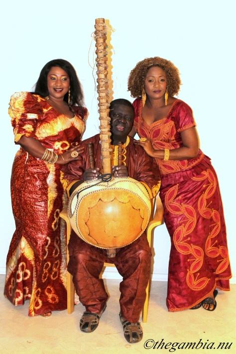 Jaliba, Fatou & Tuti Kuyateh