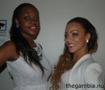 Fatoumata och Binta tävlar i Miss Africa Crown International