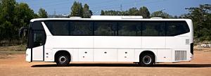 300 Scaniabussar kommer att levereras till Ghana, okänt vilken busstyp
