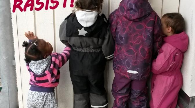 Debattartikel: Att prata med barn om rasism