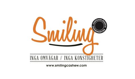 smiling cashew logga