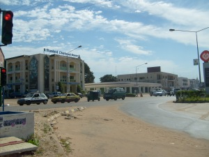 Traffic Light in Gambia