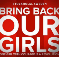 Bring Back Our Girls, Stockholm, Sweden