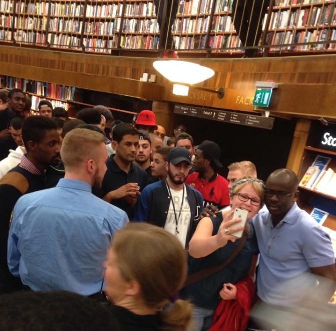 Thuram, Faal, Alem och Boswell – afroeuropeiskt på gång i Göteborg