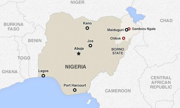 Nigeriansk militär attackerade flyktingläger