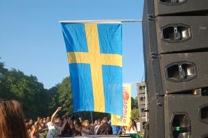 Sveriges Nationaldag, firande i Rålambshovsparken, Stockholm