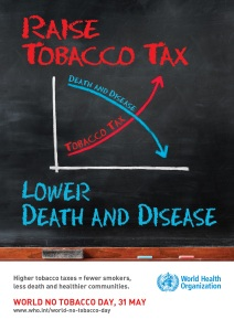 Bild: WHO - World No Tobacco Day
