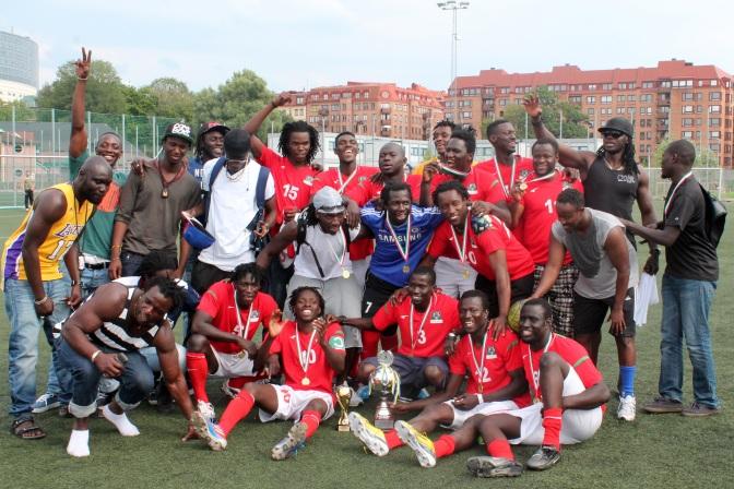 GLIOS Cup 2014 – Gambia, trefaldiga vinnare