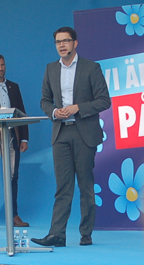 Jimmie Åkesson Almedalen 2014. Foto: thegambia.nu