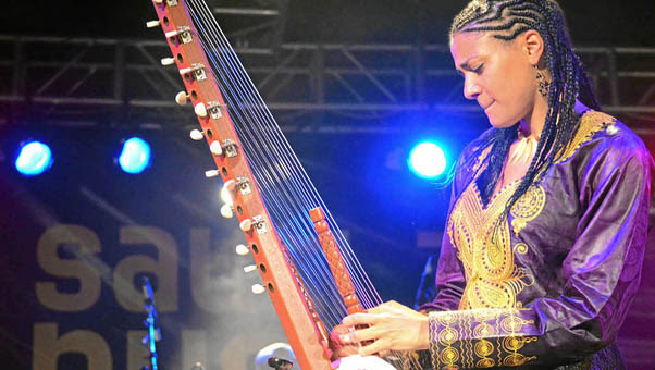 Kora star Sona Jobarteh braces up for London performance