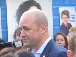 Arkivbild: Fredrik Reinfeldt Foto: Fatou Touray, thegambia.nu