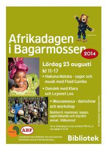 Afrikadagen Poster