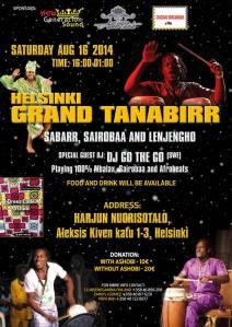 Poster: Grand Tanabirr i Helsingfors