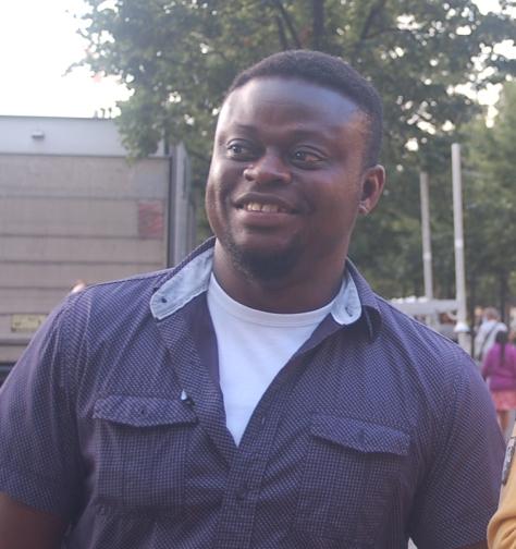 Ruben från Ghana Foto: thegambia.nu