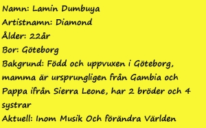 "Fakta: Lamin ""Diamond"" Dumbuya"