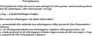 Principalansvar