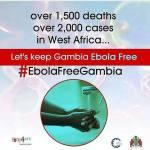 Kampanj: EbolaFreeGambia