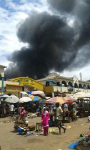 Brandolycka, Albert Market - Foto: Hatab Fadera