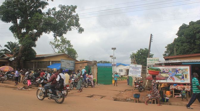 Sierra Leone i kampen mot ebolan
