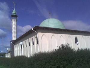 Uppsala moské, en utav Sveriges moskéer. Foto: TheGambia.nu