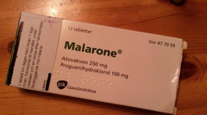 Restips: Förebyggande behandling mot malaria