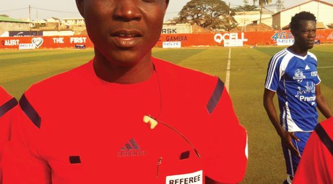 Gambian Int'l Gassama is 'African Referee of The Year'