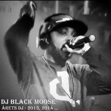 Dj Black Moose vinner Årets DJ 2014 - Foto: Kiqi D Minteh, Afropé.se