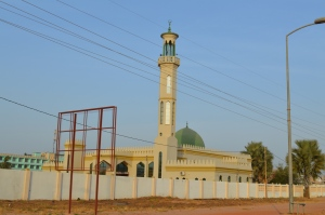 Moské i Gambia Foto: Fatou Touray, Afropé
