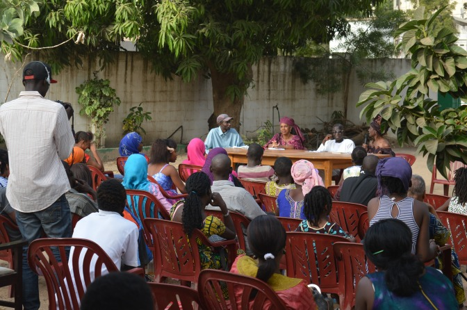 The African Poetry Library – nu även i Gambia