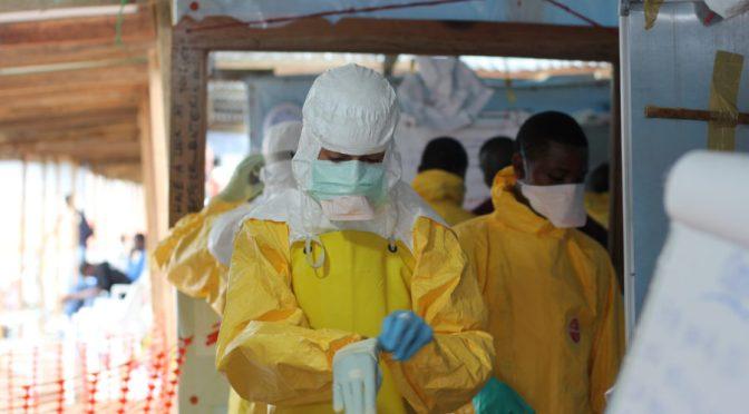 Ebolafallen minskar