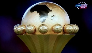 African Cup of Nations 2015, the trophy - Screenshot: Afropé