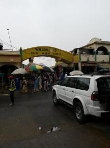 Ett regnigt och mulet Banjul. Foto: Anna Wedin, Afropé