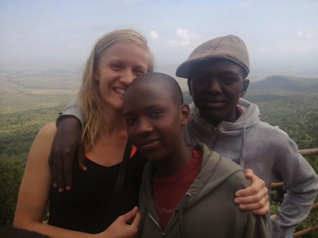 Julia driver ett barnhem för Kenyas gatubarn