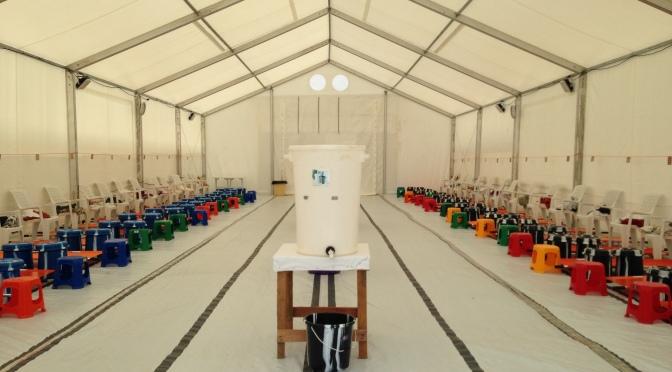 Ebolautbrottet fortfarande ett hot, men under kontroll