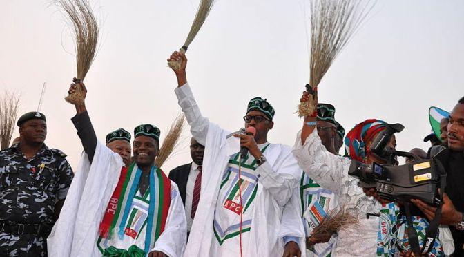 Historisk presidentvalseger i Nigeria