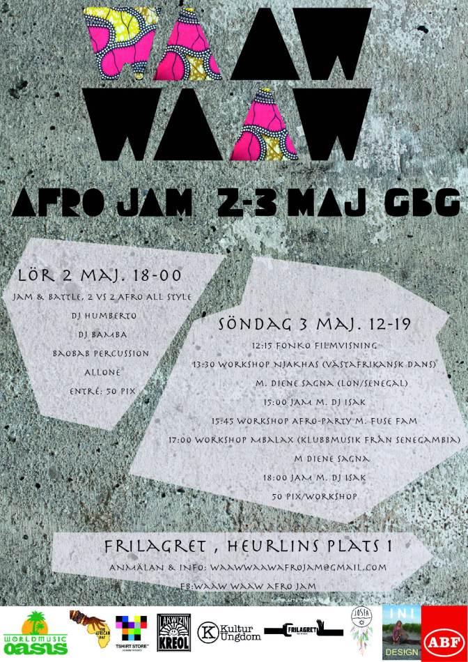 Afro Jam i Göteborg