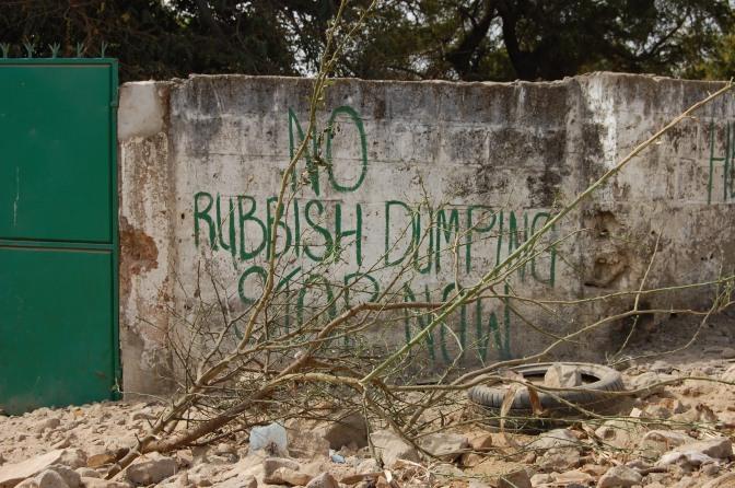 Senegal och Gambia förbjuder plastpåsar