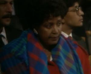 Winnie Mandela Foto: Fatou Touray, Afropé