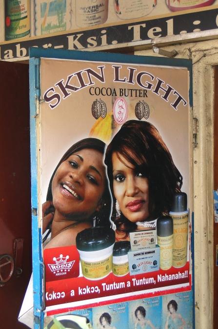 Hudblekningskrämer förbjuds i Elfenbenskusten