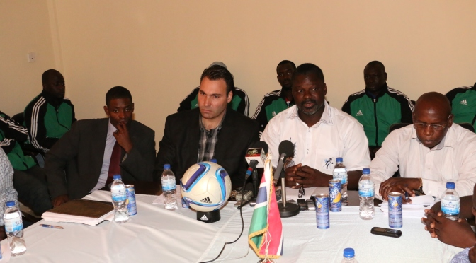 Gambia unveils Swiss coach for Scorpions