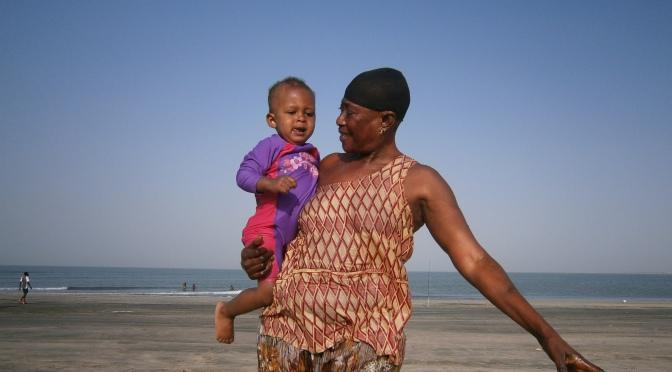 Resa med barn till Gambia