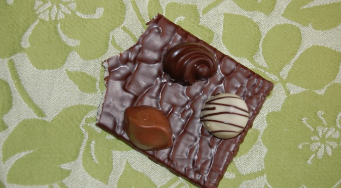 Elfenbenskustens nya industri, en chokladfabrik