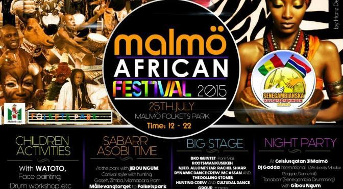 Helgen i Malmö bjuder på African Festival