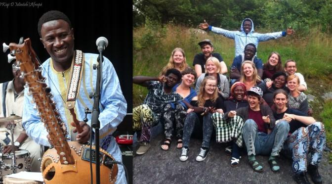 Aktuellt: Svensk-senegalesiskt folk- och världsmusikutbyte