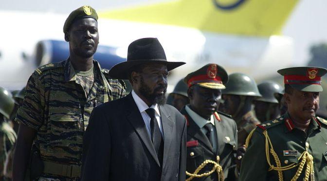 Fredsavtal tecknat i Sydsudan