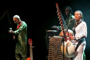 Sona Jobarteh at brave festival - Photo: Sohna Jobarteh