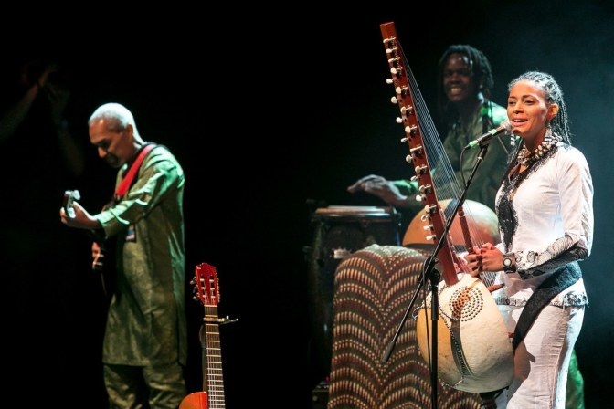 Sona Jobarteh headlines Brave Festival as curator, makes breathtaking performances