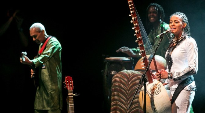Sona Jobarteh headlines Brave Festival as curator, makes breathtaking performances