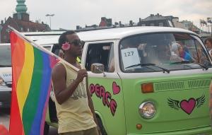 Stockholm Pride 2014, personerna på bilden har inget med artikeln att göra. Foto: Fatou Touray, Afropé