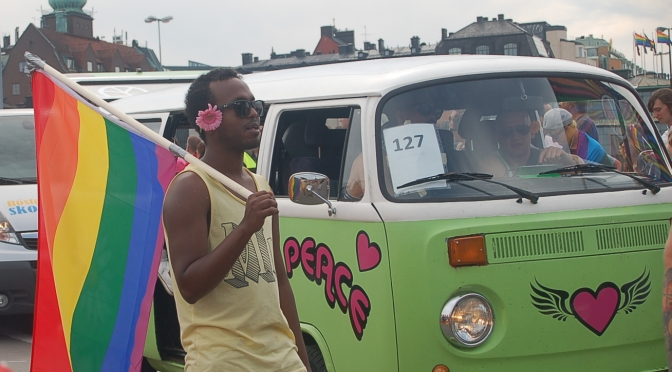 Prideparad i Uganda – trots hot